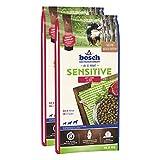 bosch Hundefutter Verschiedene Sorten 2x15kg Sensitive Lamm & Reis