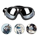 PEDOMUS Netive - Occhiali da Sole per Cani, Impermeabili, Antivento, Protezione per Gli Occhi per Cani di Taglia Grande e Media