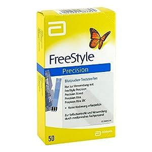 FREESTYLE Precision Blutzucker Teststr.o.Codier. 50 St Teststreifen