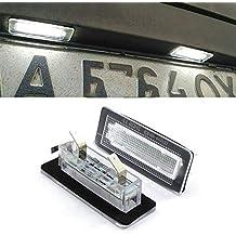GOFORJUMP 2X Error Free 18SMD para B/ENZ Inteligente fortwo LED Luz de la Placa