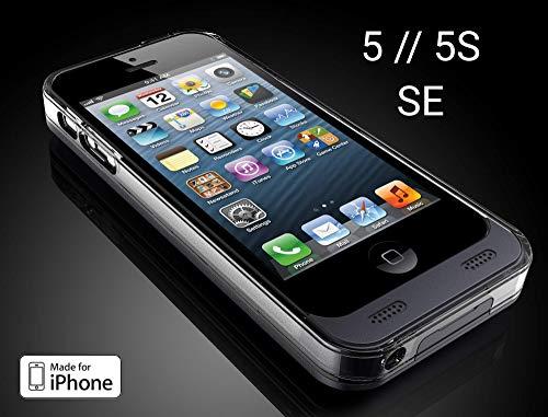Girafus Powerbank für iPhone 5 / 5S / SE, externes Cover mit Akku, 2400mAh (Akku Iphone 5s Case)