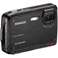 Minox DC 9011 WP Digitalkamera (9,0 Megapixel, 6-fach digital, 2,5cm (6,4 Zoll) Display wasserdicht) schwarz
