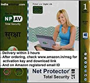 Net Protector Total Internet Security and PC Protection 2017 - 1 PC, 1 Year (Email Delivery in 2 Hours - No CD