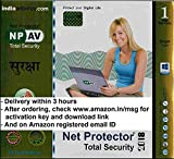 Net Protector Total Internet Security and PC Protection 2017 - 1 PC, 1 Year (Email Delivery in 2 Hours - No CD)