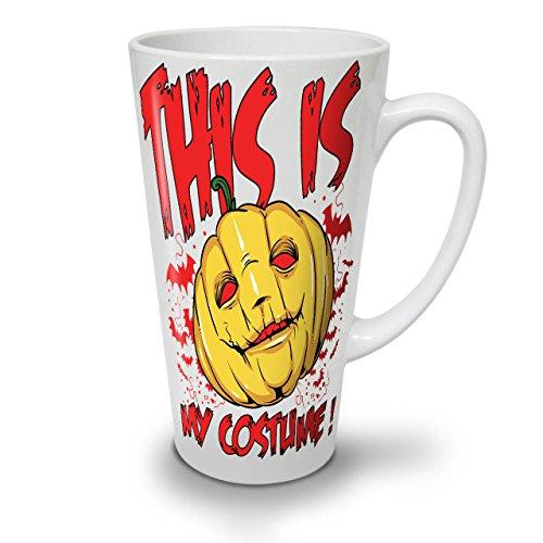 Halloween Kostüm Horror WeißTee KaffeKeramik Kaffeebecher 17 | Wellcoda