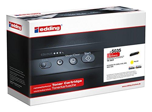 edding Toner EDD-5035 ersetzt Kyocera TK-590Y - Gelb - 5.000 Seiten