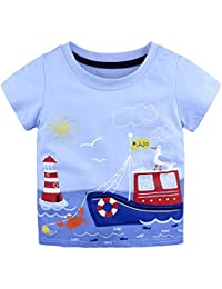 d1eb499be59f2 Amazon.co.uk: 12-18 Months - Tops / Baby Boys 0-24m: Clothing