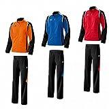 Erima Damen Trainingsanzug Jogginganzug Razor Line Orange Rot Blau, Grösse:46Farben:Blau