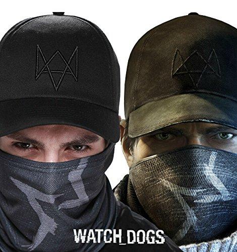Watch Dog Basecap und Maske von Aiden Pearce Mütze Schal (Basecap und Maske) Winter Watch Cap