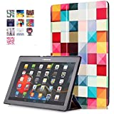 Lenovo Tab2 A10-70 Carcasa Piel,Ultra Delgado Ligero Protección Funda de Cuero Piel Book Cover Smart Case para el Lenovo Tab 2 A10-30F & Lenovo Tab 2 A10-70 Tablet de 10.1''Pulgadas Funda Carcasa Caso con Soporte-Plaza