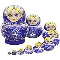 nicole Russische Matroschka Puppe Doll Souvenir Matrjoschka Babuschka 10 Stücken
