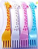 Baby Fruit Fork High Quality ABS Virgin Plastic For Your Little Kiddos Who Loves to Play While Having Food (No Sharp Edges)