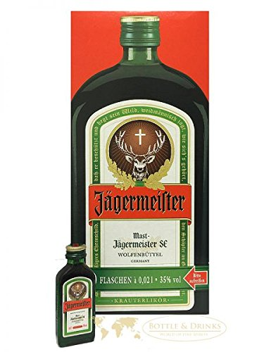 Jägermeister Licor de 56 hierbas - 60 x 0.02 l