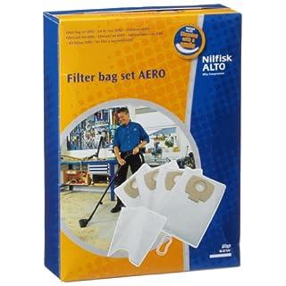 Nilfisk-Alto 4005337104816 Filter Bag Kit, Blue