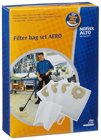 Nilfisk-Alto 302002404 Filter Bag Kit,