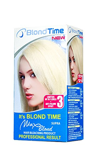 Blond Time, Supra Max Blond producto blanqueamiento
