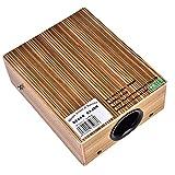 Reise Box Drum, Reisen Box Drum Flat Hand Schlagzeug Holz Schlaginstrument mit Tragetasche