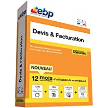 EBP Devis & Facturation DYNAMIC 12 mois 2016 + VIP