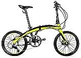 RYMEBIKES Bicicleta Plegable 20´´ Pro II Green