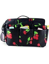 Periea Handbag Organiser 12 Compartments+FREE Key Clip -Red Cherry - Ria