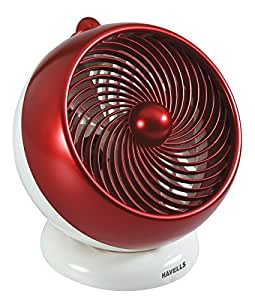 Havells I-Cool 175 mm Personal Fan (White/Maroon)