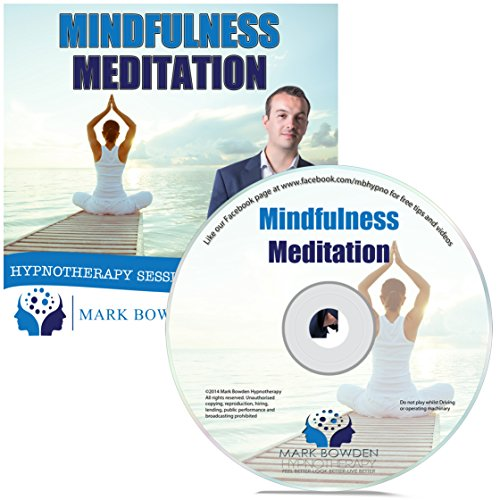 Price comparison product image Mindfulness Meditation Self Hypnosis CD - Like a Mindfulness Retreat to help with stress relief and anxiety relief. Guided Meditation Hypnotherapy CD