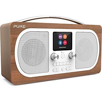 Pure Evoke F3 Radio (DAB+, DAB, UKW, WLAN, Bluetooth