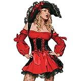 Leg Avenue - Disfraz de moza pirata para mujer, talla S (8315701012)