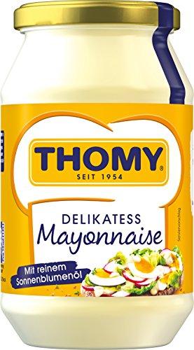 THOMY Delikatess-Mayonnaise,mit reinem Sonnenblumenöl,  500 ml Glas