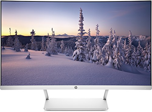 HP Z4N74AA - Monitor curvo Full HD de 27