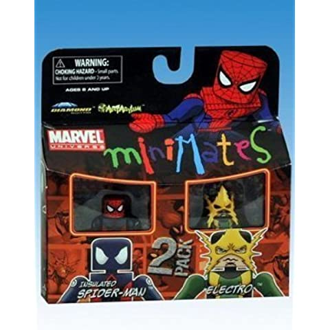 Marvel Minimates Series 30 - Insulated Spider-Man & Electro