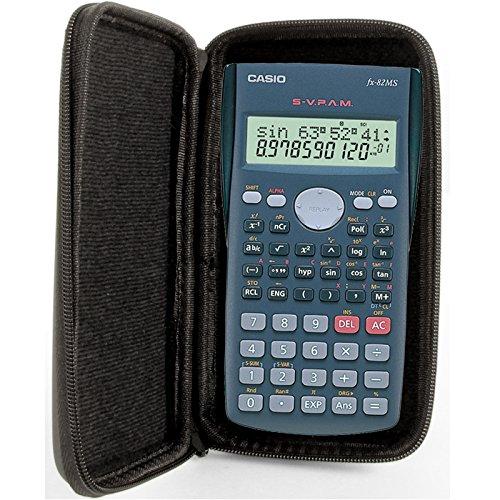 Casio-audio (Taschenrechner Schutztasche für Casio FX 82 MS / ES / DE Plus)