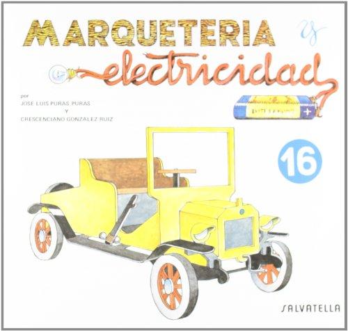 Marqueteria y electricidad 16: Coche de época (Marquetería y electricidad)