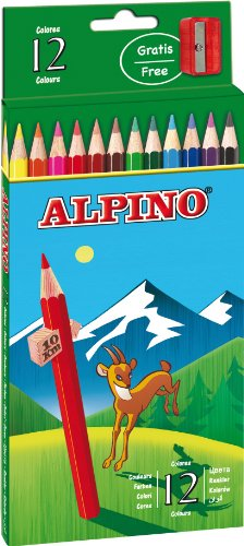 Alpino-722838 Pack 12 lápices (654)