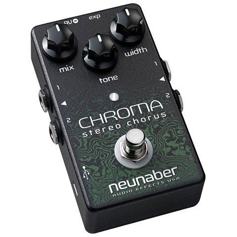 NEUNABER CHROMA STEREO CHORUS V2 · PEDAL GUITARRA ELECTRICA