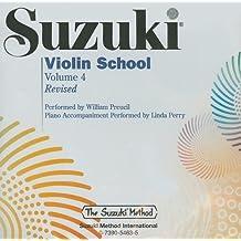 Suzuki Violin School, Volume 4 (The Suzuki Method Core Materials)