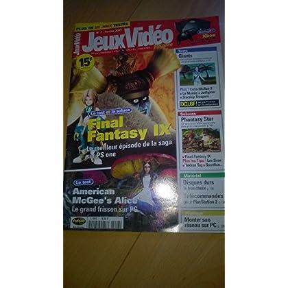 Jeux vidéo magazine numéro 7 fevrier 2001