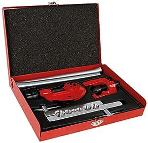 Cogex 54006 Kit de Plombier coupe-tube/étrier/ressorts à cintrer 6 pièces