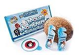 Mintycoc MouthMonsters | Mundwasser Für Kinder Mit Kokosgeschmack | Schützen Sie Die Wertvollen Zähne Ihres Kindes | Die Einzige Kinder-Mundspülung Geeignet Für Alle Altersgruppen | Verhindern Sie Schmerzen Mi
