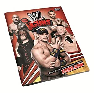 Topps WWE Icon India Icon Stickers Blister, Multi Color (5 Pack)