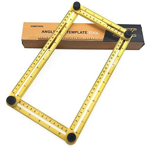 Cosyvie regla de ángulo - izer mágico multifunción, modelo de herramienta para construcción y bricolaje diario