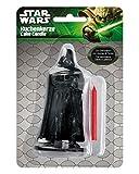 Horror-Shop Geburtstags Kuchenkerze Star Wars Darth Vader