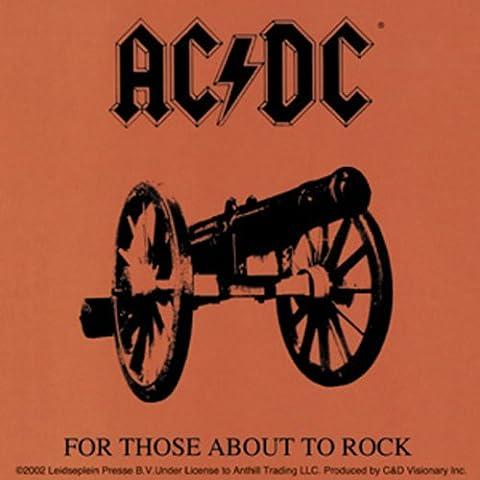 AC/DC About Acerca de Rock STICKER,ETIQUETA Officially Oficialmente Licensed Autorizado Products Classic Rock Artwork,ilustraciones - Long Lasting Sticker Etiqueta DECAL