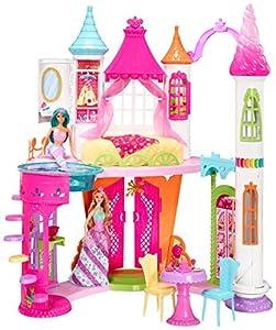 Barbie- Dreamtopia Sweetville Castle Palacio Reino de Las Chuches,, 63 x 37 x 18 cm (Mattel DYX32)