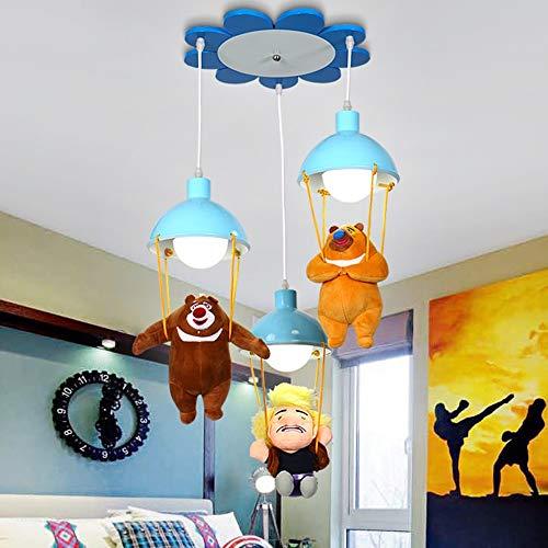 Kronleuchter Kindergarten dekorative Lichter Kinder Kronleuchter LED Cartoon Kronleuchter Jungen und Mädchen Zimmer Schlafzimmer Leuchten (Dekorative Elegante Ausdrücke)