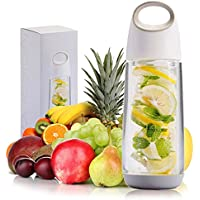 22oz succhi di frutta infusore Acqua Bottiglia senza BPA a prova di perdite 15+ ricette per aiutare a mantenere la Idratati (L. e
