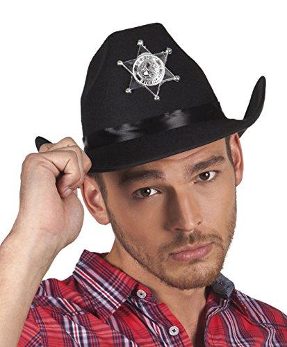 Boland 90654 Hut County Sheriff, One - County Sheriff Kostüm
