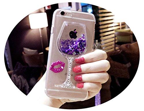 Case iPhone 5, iPhone 5S Cover, Bonice Lusso Cristallo Diamante Strass Glitter Bling [Rotazione Grip Ring Kickstand] Morbida Bordo in Silicone Posteriore a Specchio Telefono con Supporto Dellanello C model 04