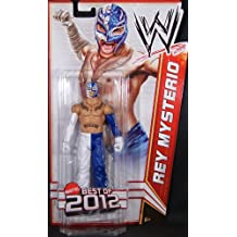 WWE - Catch - Figurines articulées - Série best Of 2012 - Rey Mysterio