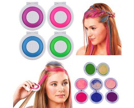 takestop-hot-huez-colore-per-capelli-temporaneo-4-colori-fucsia-blu-verde-viola-gesso-pastello-hair
